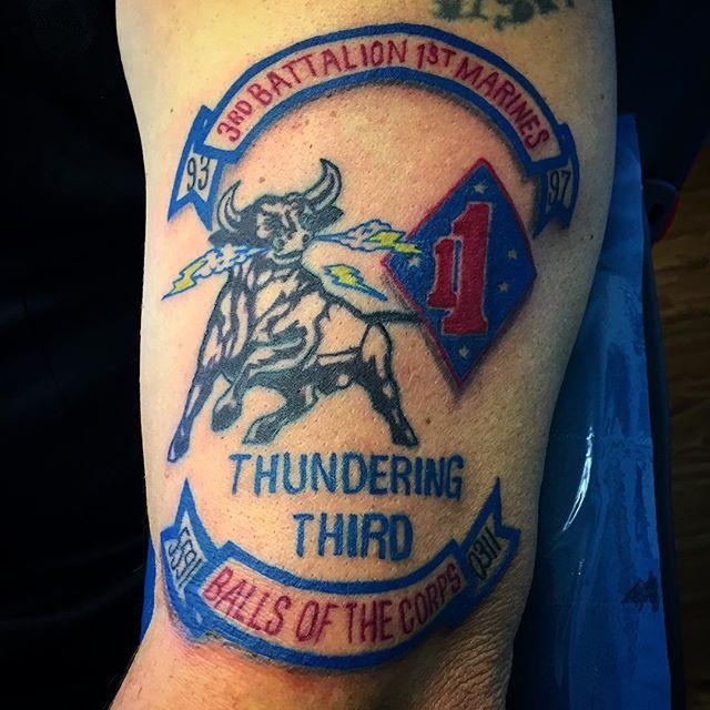 3rd Battalion 1st Marines Tattoo
