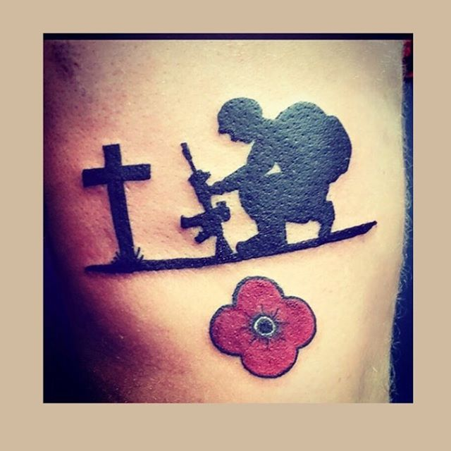 Fallen Soldier Tribute Tattoo
