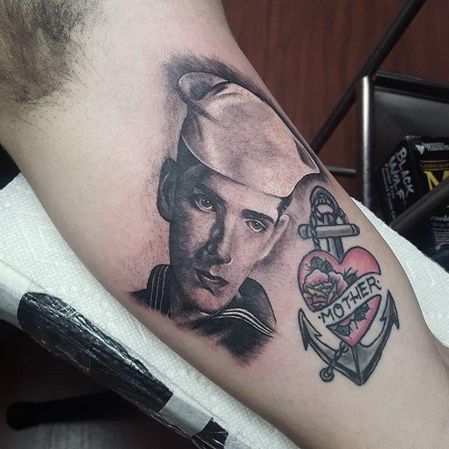 Memorial Navy Tattoo