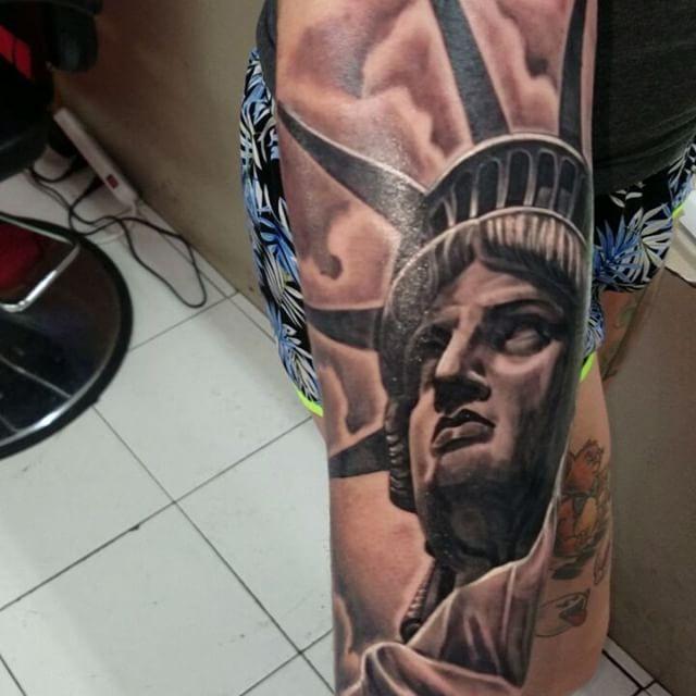Liberty Forearm Tattoo
