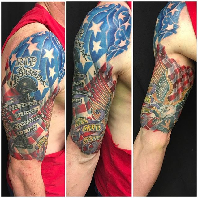 Fallen Soldiers Memorial Tattoo
