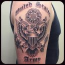 US Army Arm Tattoo