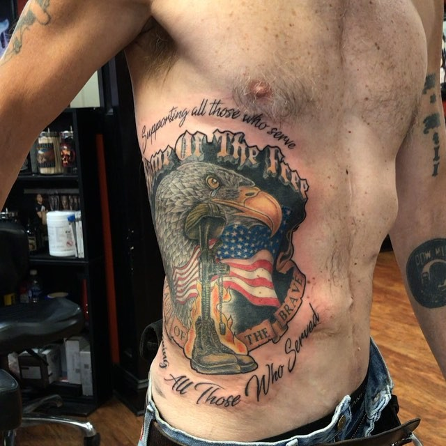 Veteran Brave Tattoo
