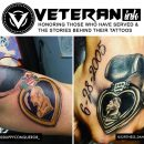 Purple Heart Veteran Tattoos