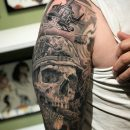 Skull Soldier Tattoo