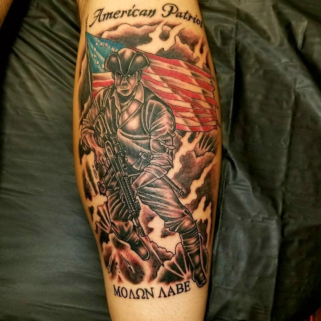 American Patriot Tattoo