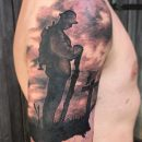 Army Veteran Memorial Tattoo