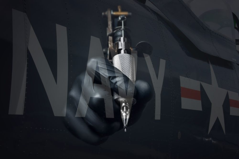Tattoos in the military - Navy
