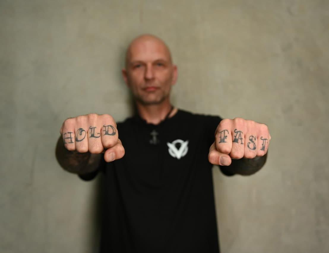 Forrest Lang Veteran Tattoos