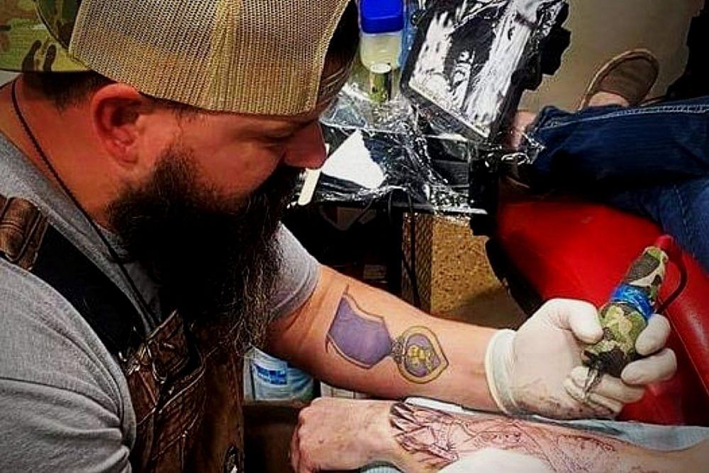 Veteran Tattoo Artist